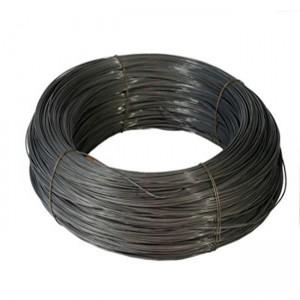 Fabriek Sagte 9 12 14 16 Gauge Swart Wire Black Tie Wire swart uitgegloei draad vir die bou