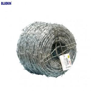 Low Price Galvanized Barbed Wire Price Per Roll