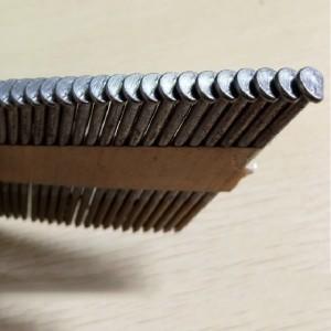 Plastic 34 degree paper strip nails